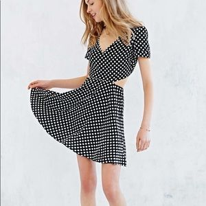 OH MY LOVE ❤️ Polka dot mini dress with cut outs